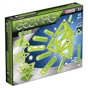 Geomag Glow Kit - 40 Piece Glow in the Dark Magnetic Construction Set