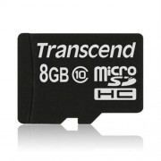 Transcend 8GB microSDHC (Class10) pamäťová karta (bez adaptéra)