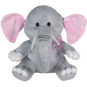 Ultra Baby Elephant Soft Toy 11 Inches - Grey