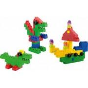 Blocks Super Scoala 96 piese - Miniland