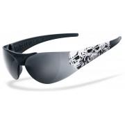 Helly Bikereyes Moab 4 Triple Skull Gafas de sol Negro Blanco un tamaño