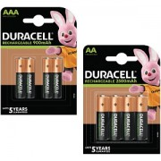 Duracell Pre-Charged AA & AAA 8pk (BUN0044A)