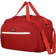 alfisha (Expandable) Wholesale High Quality Easy Carry Durable Fashion high-Capacity Traveling Duffle BagTravel Duffle Bag with Roller Wheels (Gala Straight Line Maroon) Travel Duffel Bag(Red)