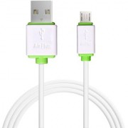 Airplus Micro-USB to USB 1.2M/ 4ft Fast Charging Data Sync Cable White
