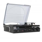 Auna 182TT USB gira discos gravação MP3 AUX PC MAC