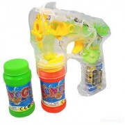 Kids Flashing Bubbles Gun with Music and Lights