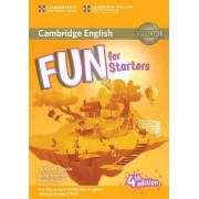 Fun for Starters Teacher's Book with Downloadable Audio by Anne Robinson