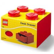 LEGO, Sertar de birou 4 - rosu
