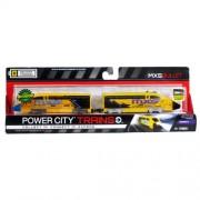 Jakks Pacific Year 2013 Power Trains Series 5 Battery Powered Motorized Train Engine Set - MXS BULLE