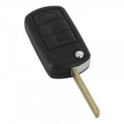 Carcasă cheie tip briceag 3 butoane - Land Rover