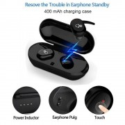 Casti Audio Handsfree fara fir cu functie touch si Bluetooth 5.0