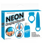 Neon Luv Touch Naughty Nites Kit Blue