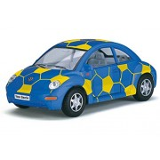 Kinsmart 1:32 Scale Die-Cast VW Beetle Soccer with Openable Doors & Pull Back Action
