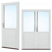 Traryd fönster Altandörr Intakt 1080x1780/1580mm vänster inåt par 2+1 glas linjerar öppningsbart