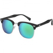Walrus Michel Multicolor Mirror Color Unisex Wayfarer Sunglass - WS-MCHL-210207