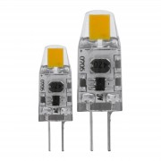 EGLO LED žárovka G4 1,2W, 2.700K dva ks