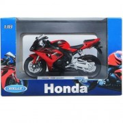Welly Honda Cbr1000rr Die-cast Miniature Scale 1:18 Red