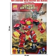 Toy-Station - Special LEGOO Type Blocks (Hero's-Hulk Buster- 305PC Blocks - LEGOO Type)