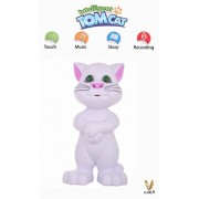 Intelligent Talking Tom Cat By Cora With Touch Recording Story Rhymes & Songs,Intelligent Touching Tom Cat with wonderful voice.White