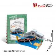 Cubicfun Podul Rialto Italia Puzzle 3D 29 de piese