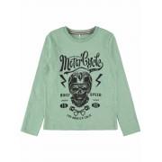 Name It! Jongens Shirt Lange Mouw - Maat 140 - Groen - Katoen