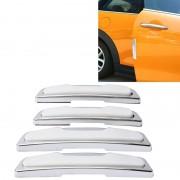 4 PC's auto deur langsbescherming Anti Crash Strip auto exterieur vermijden hobbels Collsion Impact Protector modevormgeving auto Sticker(White)