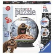 Puzzle 3D Viata Secreta A Animalelor 72 Piese