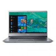 "Лаптоп Acer Swift 3 SF314-54-310N (NX.GXZEX.013)(сребрист), двуядрен Kaby Lake Intel Core i3-8130U 2.2/3.4 GHz, 14"" (35.56 cm) Full HD Anti-Glare Display, (HDMI), 8GB DDR4, 256GB SSD, 2x USB 3.0, Windows 10, 1.6 kg"