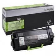 Tонер касета за LEXMARK MS810/MS811/MS812 Series, Черен, 6K, 52D2000