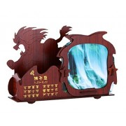 Constellation Photo Frame 3 D Woodedn Puzzles Picture Frames Puzzle C Leo