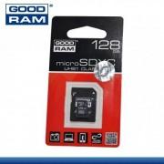 GOODRAM/TOSHIBA MEMÓRIA KÁRTYA TransFlash 128 GB - microSDXC - Class 10, UHS-1 + SD adapter - GYÁRI