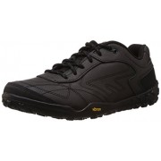 Hi-Tec Men's Coal and Charcoal Leather Trekking and Hiking Boots - 9 UK