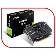 Видеокарта MSI GeForce GTX 1070 1531Mhz PCI-E 3.0 8192Mb 8008Mhz 256 bit DVI 2xHDMI HDCP GTX 1070 AERO ITX 8G OC