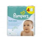Servetele umede Pampers quattro Baby Fresh (256 buc)