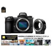 Nikon Cámara Mirrorless NIKON Z6 + ADAPT (24.5 MP - Sensor: Full-Frame - ISO: 100 a 51 200)