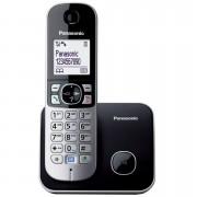 Telefon Panasonic KX-TG6811FXB, crna, Bežični, 24mj
