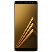 Telefon mobil Samsung Galaxy A8 (2018) Dual Sim 5.6'', 4G, RAM 4GB Stocare 32GB, Camera 16MP+8MP/16MP, Gold