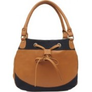 Borsavela Women Brown Shoulder Bag