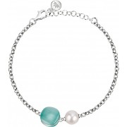 Morellato Stříbrný náramek s perlou Gemma Perla SATC10