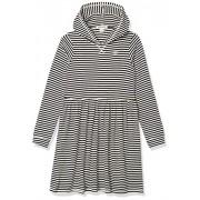 BILLABONG Vestido para niña, Blanco/Negro, Large