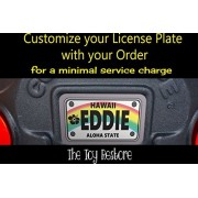 Custom License Plate Fits Step 2 Tottle Tune Coupe