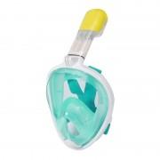 10 PCS Équipement de plongée Sports nautiques Masque de plongée en plein air Lunettes de natation pour GoPro HERO4 / 3 + / 3/2/1, taille L (vert clair)