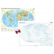 Harta principalelor resurse naturale de subsol ale lumii – Duo 100x70 cm