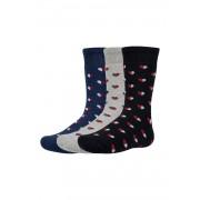 Yrako meleg gyerek zokni, 3 pár 1 csomagban színes 29-31