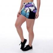GraffitiBeasts Edis One - Dames shorts van de graffiti ontwerpers - Multicolor - Size: Extra Large