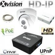 IP Zabezpečovací set 1x HD IP kamera + NVR