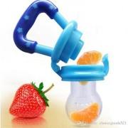 Baby Nipple Pacifier Fresh Food Fruit Milk Nibbler Feeder Kids Pacifier Feeding Safe Baby Supplies Soother Teat-multi