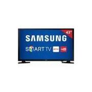 Smart TV LED 43 UN43J5200 Samsung, Full HD HDMI USB e Wi-Fi Integrado