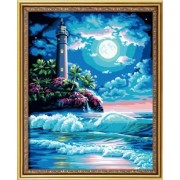 Diy oil painting, paint by number kit- The Blue Dream 16*20 inch.