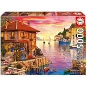 Educa Children's 5000 the Mediterranean Harbor Dominic Davison Puzzle (Piece)